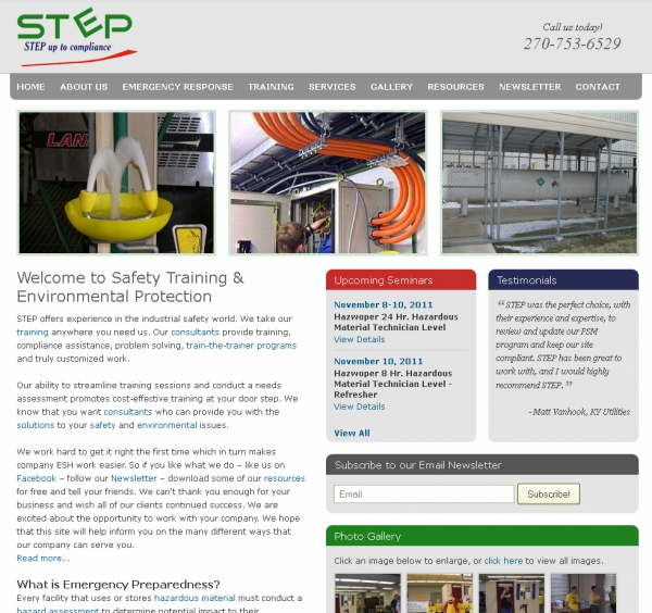 Safety Training & Environmental Protection